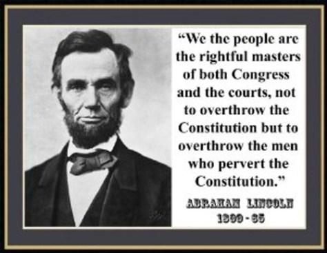 Abe pervert consitition