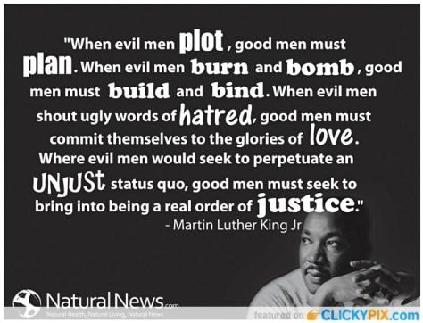 MLK what good men must do