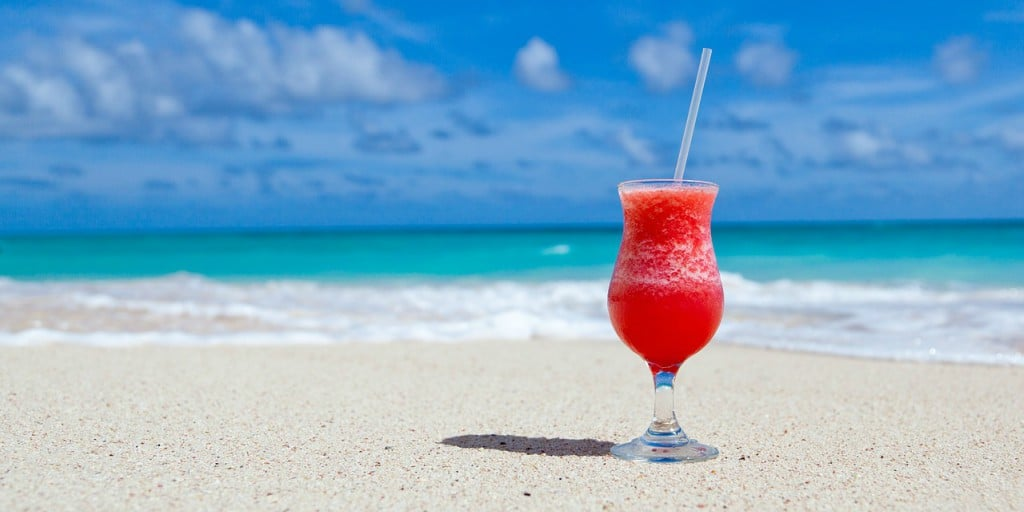 Cocktail sur la plage