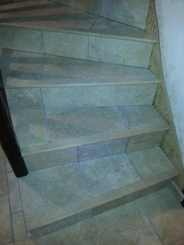 Poser Un Carrelage Sur Un Escalier En Beton Partie 1 2 Reussir Ses Travaux