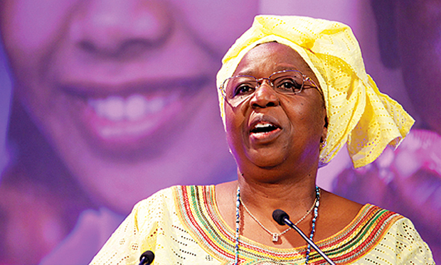 Eva Marie Coll Seck, Ministre de la Santé et de l'action sociale (Sous Macky Sall)