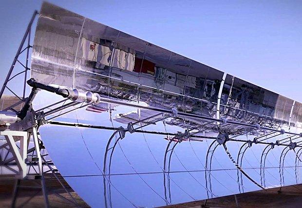 """Complexe solaire intégré de Ouarzazate, baptisée """"Noor"""""""