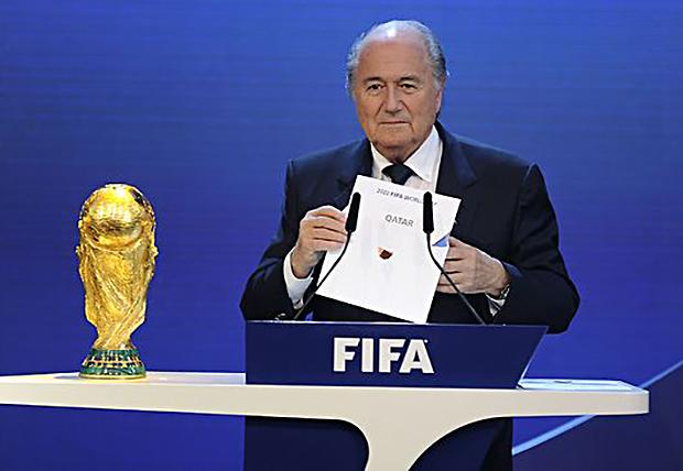 Sepp Blatter, Président de la FIFA™