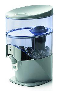 Fontaine d'eau, reproduit le sycle de purification et de vitalisation de l'eau