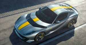 Ferrari has unveiled the first details of a special edition V12 car based on the 812 Superfast