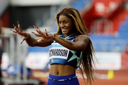 Sprinter Sha'Carri Richardson Finishes Last in 100-Meter in Return from Drug Ban