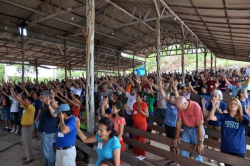 You won't ever forget a worship experience with Brazilians!