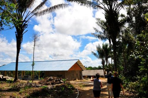 PAZ's jungle campgrounds in the middle of Manaus