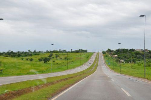 Jungle, meet highway.  Highway, meet jungle.