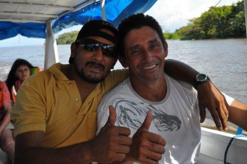 Joaquim and Pastor Reinaldo