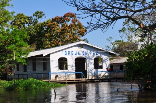 One of nearly 30 churches that will need to be reworked after the tremendous flood