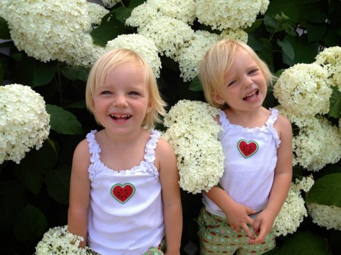 Flower girls 2x this year