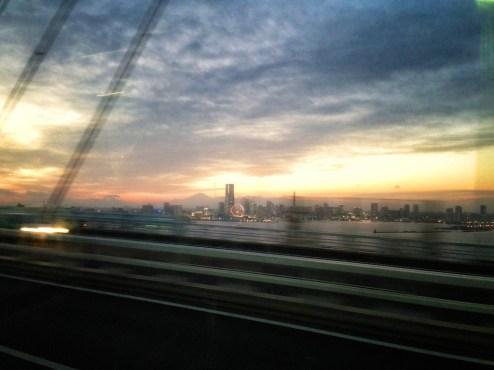 Arriving in Tokyo