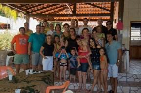 Saying good-bye to many Brazilian friends