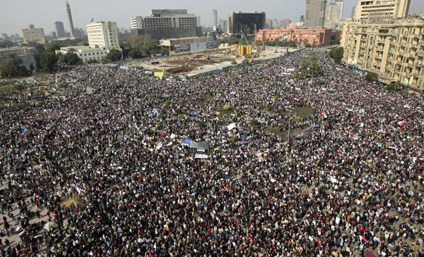 Egypt, Tahrir Square, 2011