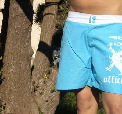 maillot short turquoise