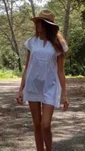 robe tunique courte