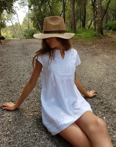 robe courte petites manches