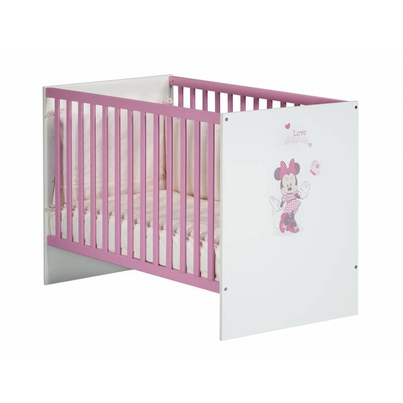 lit pour bebe a barreaux minnie