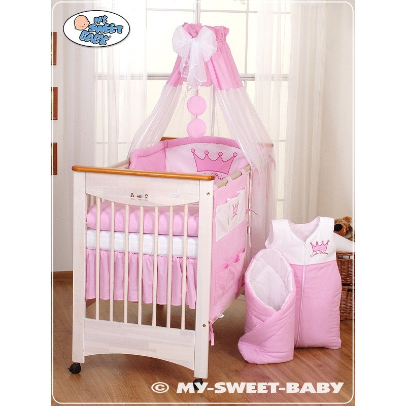 parure de lit bebe prince ou princesse rose