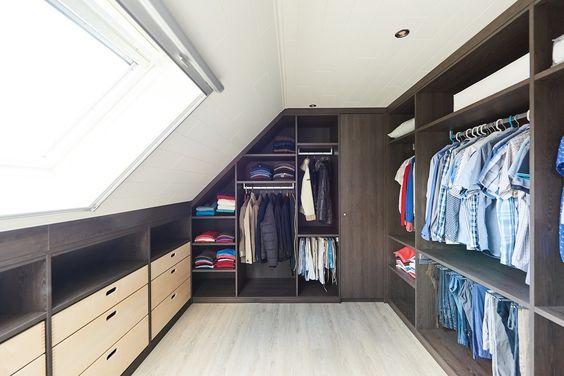 dressing room sous combles