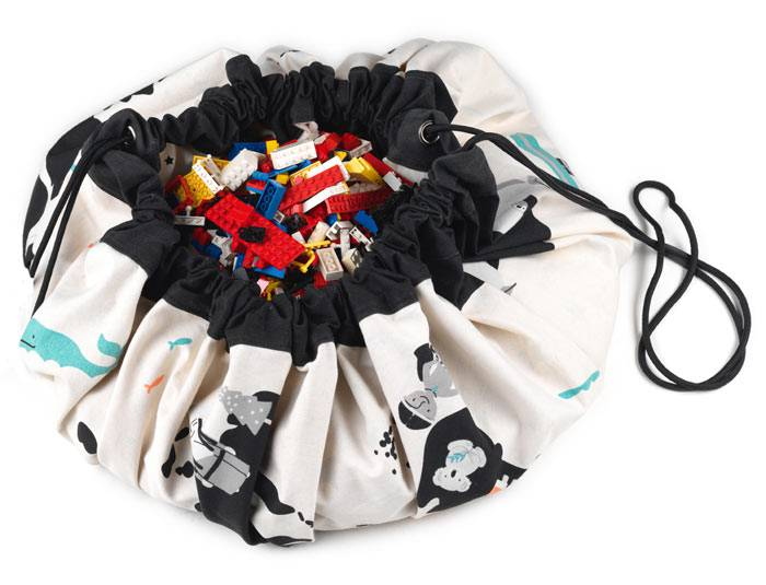 sac rangement tapis carte du monde play and go