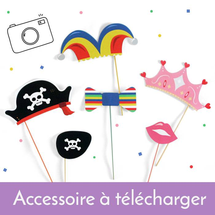 Printable Accessoires Photobooth