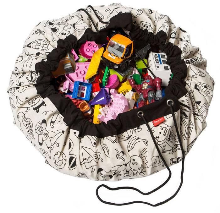 sac rangement tapis color my bag play and go