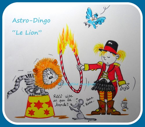 """astro-dingo """"le lion"""""""