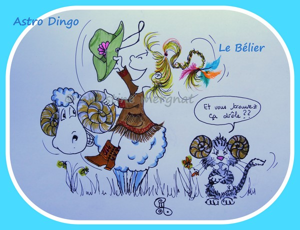 "astro-dingo ""le bêlier"""
