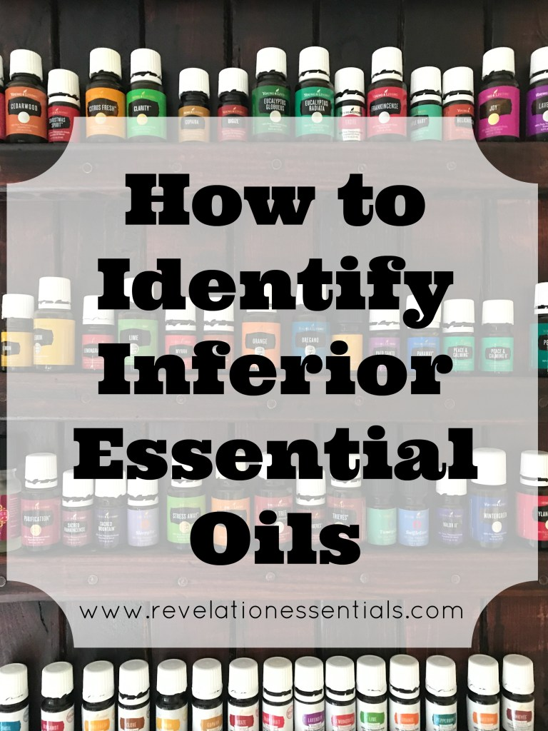 How to Identify an Inferior Quality Essential Oil