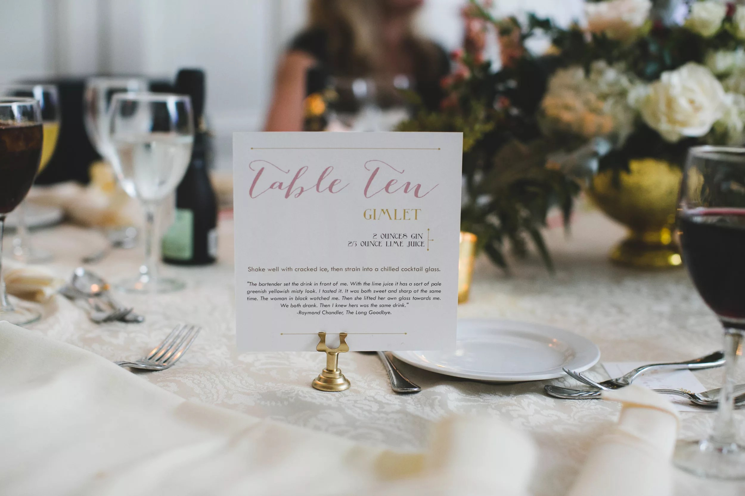 Personalized Wedding Details Decor For Epic Weddings Revelry - Custom restaurant table numbers