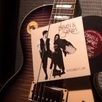 Custom Wedding invitation that mimics Fleetwood Mac Rumours album | revelry + heart