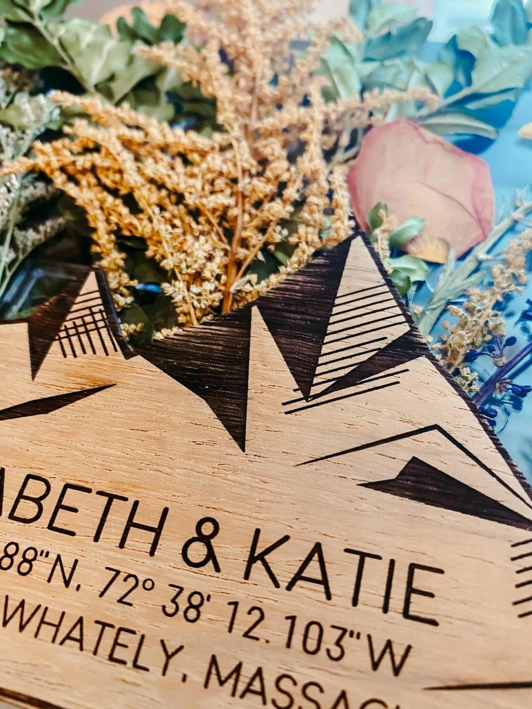 closeup of wood engraving detail
