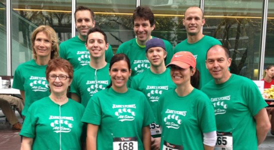 RMS sponsors 2013 fight for air stair climb