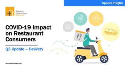 COVID-19 Restaurant Consumers 2020 Q3: Delivery Edition