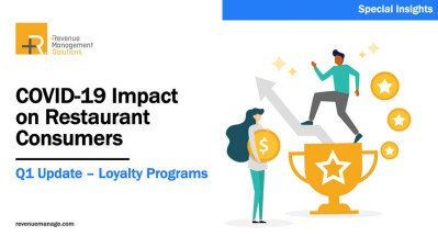 Restaurant Consumer Report Q4 Update: Loyalty Programs