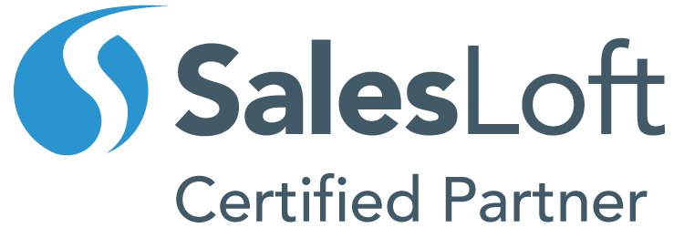 SalesLoft Certified Partner Logo in Color.