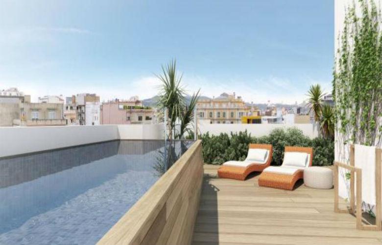 Cerramientos de terrazas para ticos disfr talas revenval - Techar terraza atico ...