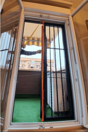 Medir ventanas viejas