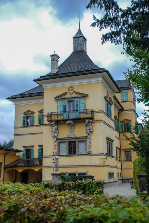 The Lustschloss Schloss Hellbrunn in Salzburg, Austria.