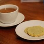 Matcha Green Tea Almond Shortbread Cookies