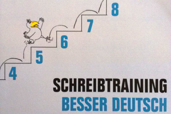 Schreibtraining German Lessons