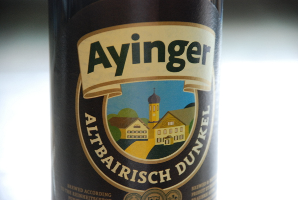 German Beer: Ayinger Altbairisch dunkel