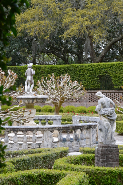 A peek into the Elizabethan Gardens