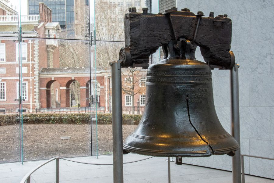 Relive colonial Philadelphia with a visit to the Liberty Bell.