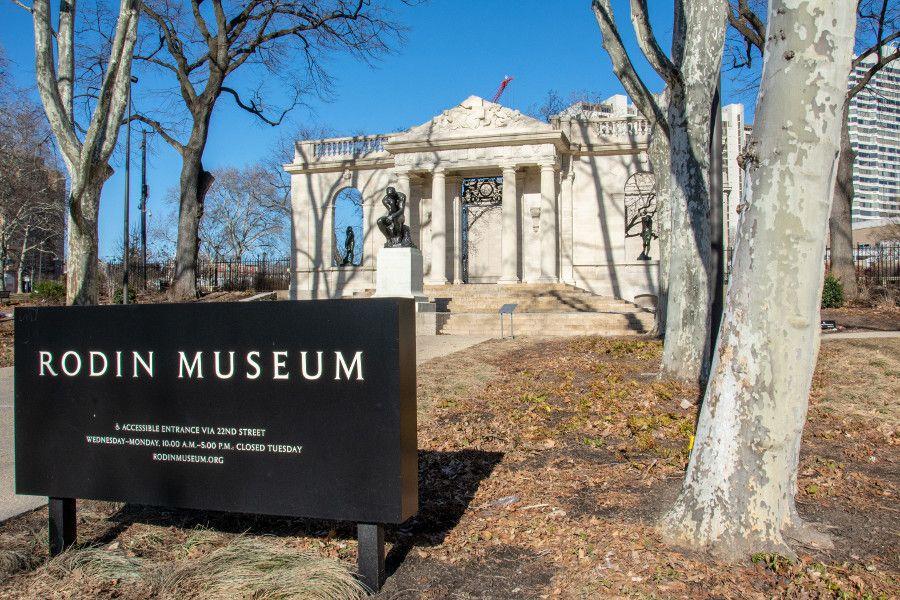 The Rodin Museum in Philadelphia.