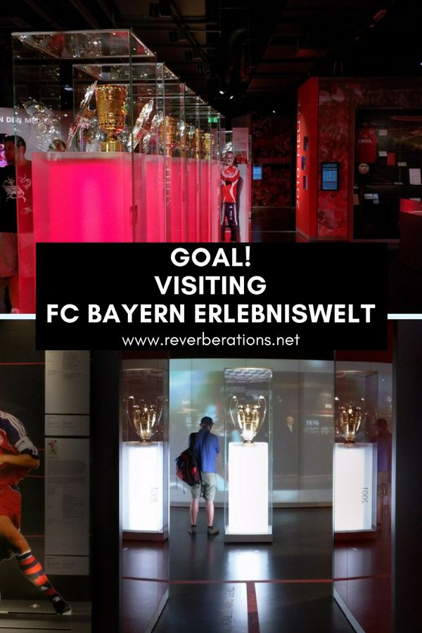 FC Bayern fans rejoice! FC Bayern Erlebniswelt museum celebrates Germany's biggest soccer (football) team.