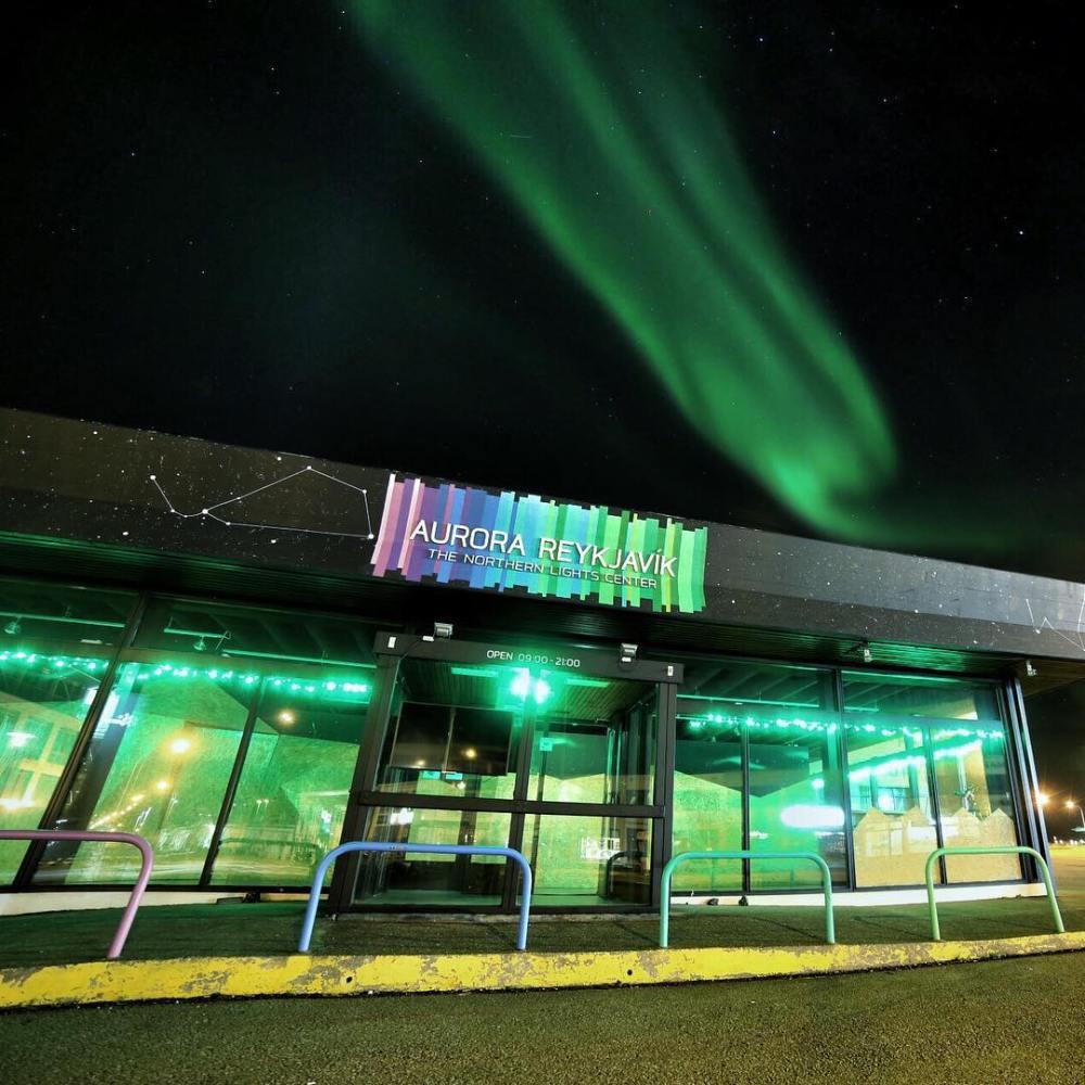 aurora Reykjavík northern lights center