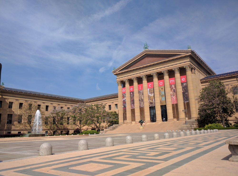 Philadelphia Museum of Art from Rocky to Calder on Reverberations blog.